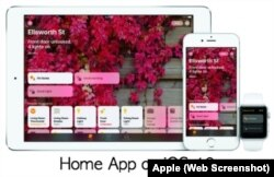 iPhone Home App