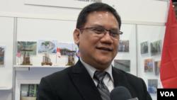 Direktur Utama Industri Nuklir Indonesia (INUKI) Yudiutomo Imardjoko menghadiri KTT Industri Nuklir, di Washington DC.