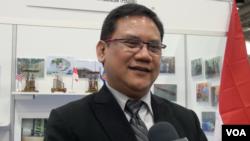Direktur Utama Industri Nuklir Indonesia (INUKI) Yudiutomo Imardjoko di KTT Industri Nuklir, Washington DC.