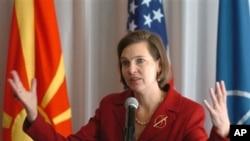 امریکی محکمۂ خارجہ کی ترجمان وکٹوریہ نلینڈ