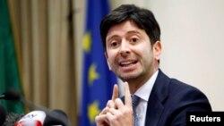 Італійський міністр охорони здоров'я Роберто Сперанца