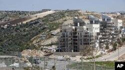 2011年3月14号,西岸犹太人定居点全景