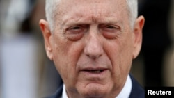 美國國防部長馬蒂斯。