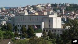 Здание американского консульства в Стамбуле (архивное фото)