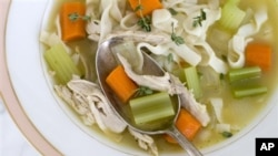 Chicken soup for eating...