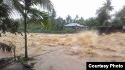 Situasi di kota Padang saat ini. (Foto courtesy: BNPB).