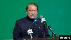 وزیراعظم نواز شریف اسلام آباد میں منعقدہ تقریب میں خطاب کرتے ہوئے