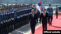 Ministri odbrane Rusije i Srbije - Sergej Šojgu i Aleksandar Vulin tokom susreta u Beogradu, Srbija, 17. februara 2020. (Foto: Ministarstvo odbrane Srbije)