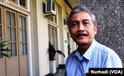 Dr Sudibyo dari Inculs UGM. (Foto: Terkini.com/ Nurhadi)