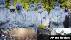 ျမန္မာ ကိုဗစ္၁၉ ထိန္းခ်ဳပ္ေရး (ဓာတ္ပံု - AP/AFP/Reuters)
