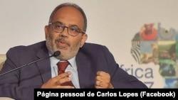 Carlos Lopes, antigo presidente da Comissão Económica para África das Nações Unidas