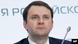 Rossiya Iqtisodiy rivojlanish vaziri Maksim Oreshkin