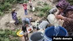 برخی از مناطق روستایی در مازندران با قطع شدن مداوم آب روبرو هستند