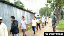 ভাসানচরে আতিথেয়তায় মুগ্ধ রোহিঙ্গা প্রতিনিধি দল
