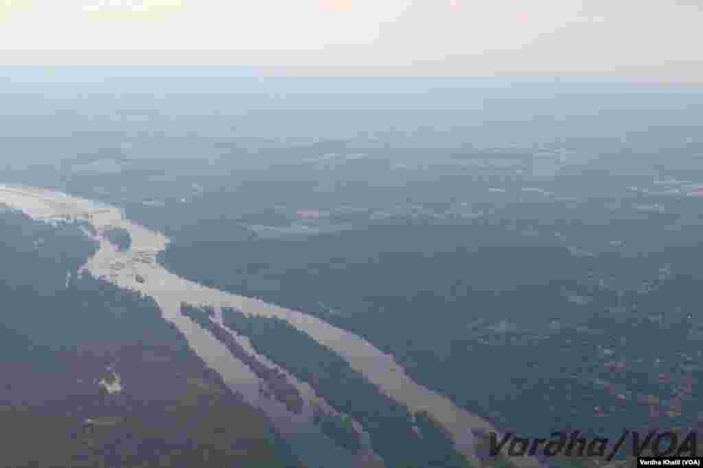 واشنگٹن ڈی سی کا فضائی منظر