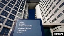 la Cour pénale internationale (CPI), La Haye, Pays-Bas, 31 mars 2011.