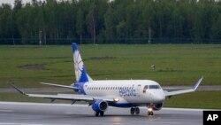 Самолет беларусских авиалиний