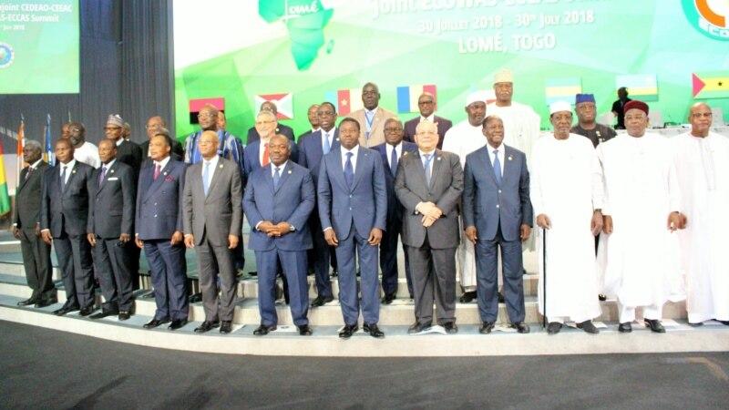 Sommet de la CEDEAO sur les questions politiques en Afrique de l'Ouest au Togo