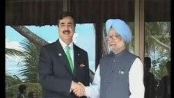 印巴两国总理进行会谈