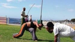 """Beleza"""", o angolano que mostra a arte da capoeira na África do Sul - 5:00"""