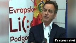 """Nosilac koalicione liste """"Evropsko lice Podgorice"""" Dragan Bogojević"""