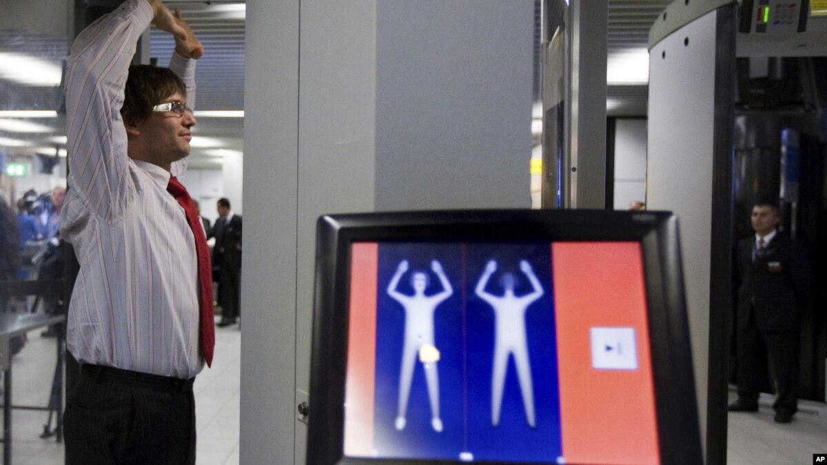 Airport Security FAQ SnallaBolaget Airport body scan pictures images