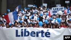 تظاهرات برای آزادی «گیلاد شالیط»،