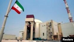 Tahran'daki Buşehr nükleer santrali.