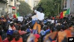 سینیگال: صدرکو انتخابات میں سخت مقابلے کا سامنا