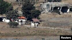 سنوری قونیترە بەشی سوریا لە بەرزاییەکانی گۆلان