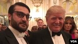 رئیس جمهور ترمپ روز گذشته در تفریحگاه شخصی خود در فلوریدا با حمدالله محب سفیر افغانستان در امریکا دیدار کرد