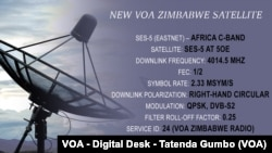New VOA Zimbabwe Satellite