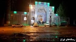 وقوع سیل در شرق استان اصفهان