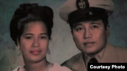 Claudio Pedery and his wife both came from the Philippines to the United States.