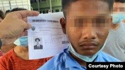 စာရြက္စာတန္းအ ေထာက္အထားအတုေတြနဲ့ဖမ္းမိတဲ့ျမန္မာႏို္င္ငံသားမ်ား ( Picture: Thai police)