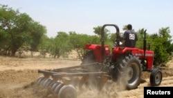 Un cultivateur nigérian (Reuters)