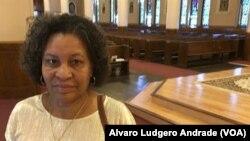 Filomena Veiga, católica e emigrante cabo-verdiana nos EUA