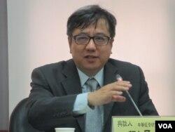 中华经济研究院大陆所所长刘孟俊