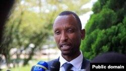 Gilbert Mwenedata, umunyapolitike utavugarumwe na leta y'u Rwanda