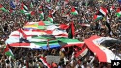 مصر: فرقہ وارنہ تشدد کے خلاف ایک بڑا مظاہرہ
