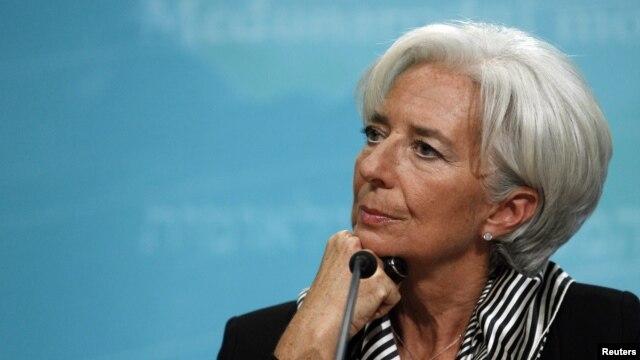 """La directora Christine Lagarde dijo que no """"hay que dormirse en los laureles"""" y que queda mucho por hacer."""