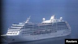 Kapal pesiar mewah Azamara Quest lolos dari musibah kebakaran mesin di perairan Filipina. Kapal pesiar ini berangkat dari Hongkong, Senin lalu (26/3)