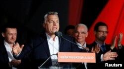 Firayim Ministan Hungary Viktor Orban wanda jam,iyyarsa ta lashe zaben majalisar dokokin kasar bata son bakin haure