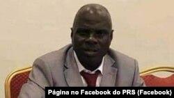 Alberto Nambeia, presidente do PRS, Guiné-Bissau