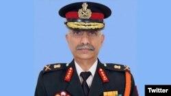 بھارتی فوج کے نئے سربراہ جنرل موکنڈ ناراوانے۔ فائل فوٹو