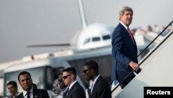 El secretario John Kerry abordará el tema de la seguridad nacional y regional con especial atención en Siria, así como el enfrentamiento entre palestinos e israelíes.