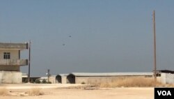 US and Turkish helicopters patrolling northern Syria as part of the joint security mechanism they agreed recently.