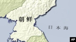朝鲜地理位置图