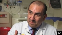 Dr. Elmer Huerta at the Washington Hospital Center urges people consult a physician about all the risks involved with aspirin