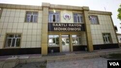 Saatlı rayon məhkəməsinin binası